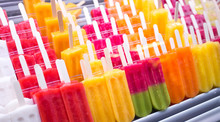 Assortment Of Colorful Popsicl...