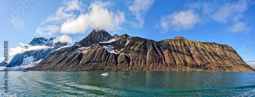 Deurstickers Arctica Arctic landscape
