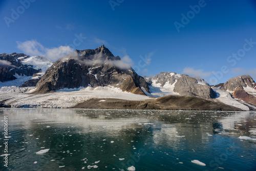 Autocollant pour porte Arctique Arctic landscape
