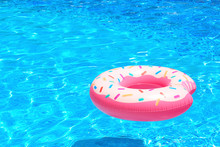 Colorful Inflatable Donut In B...