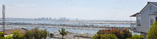 A Downtown San Diego View from Point Loma Fototapet