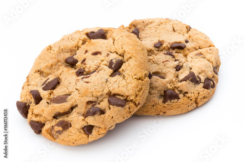 In de dag Koekjes Chocolate chip cookie.