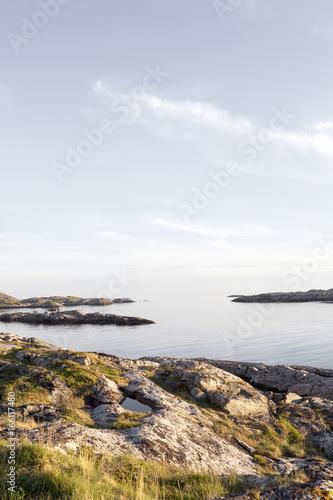 In de dag Kust North Norwegian Coastline