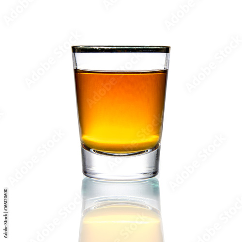 Cocktail Glass with brandy or whiskey - Small Shot Tapéta, Fotótapéta