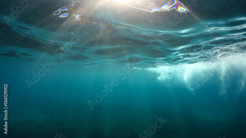 plakat natural underwater background