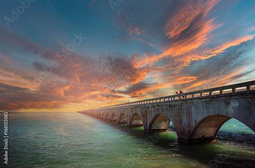 seven Miles Bridge, Florida Keys Canvas-taulu