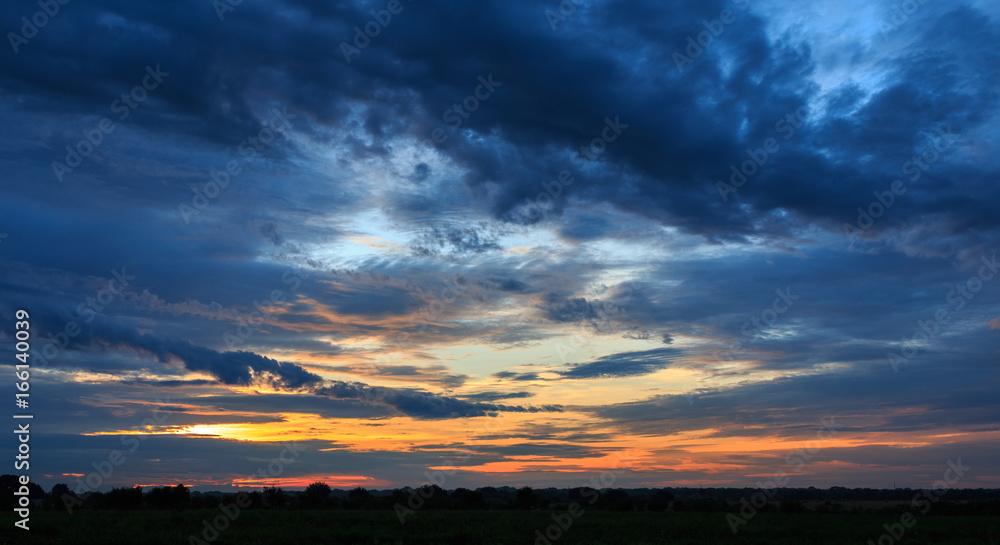 Fototapety, obrazy: Dark Sunrise