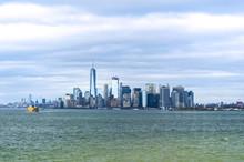 Vista Di New York Da Staten Island