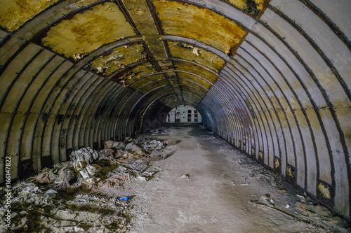 Photo  Object 221, abandoned soviet bunker, reserve command post of Black Sea Fleet