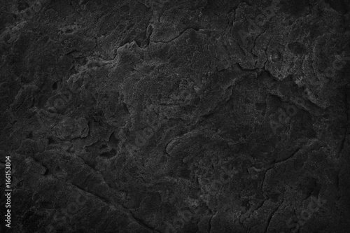 In de dag Stenen Black Stone background. Dark gray texture close up high quality May be used blank for design. Copy space