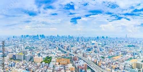 Fotografie, Obraz  都市風景 日本 大阪
