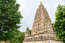Mahabodhi Temple In Bodh Gaya,...