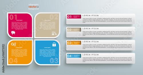Photo  Infografik Verzeichnis 4 Optionen