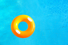 Colorful Rubber Ring Floating ...