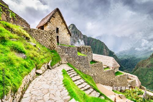 Poster South America Country Machu Picchu, Cusco region - Peru, South America