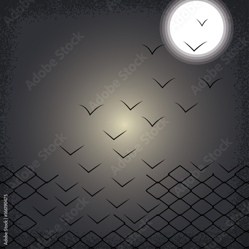Photo  Magical escape vector