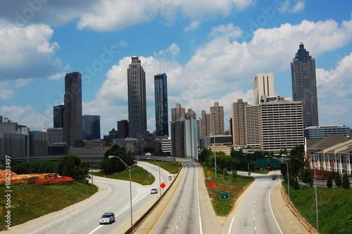 Obraz na dibondzie (fotoboard) panoramę Atlanty