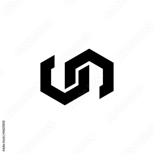 Un Letter Logo Vector Buy This Stock Vector And Explore