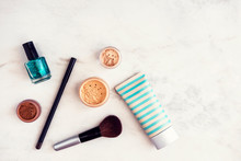 Woman Beauty Products Flatlay ...