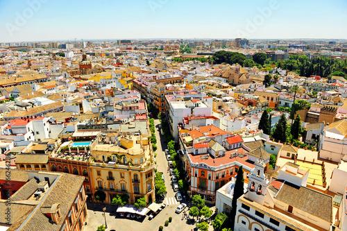 Staande foto Havana Sevilla desde la Giralda