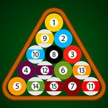 Billiard - Pool - Snooker Ball...