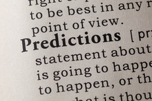 Definition Of Predictions