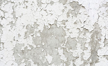 Old Cracked Painted Plaster Wall