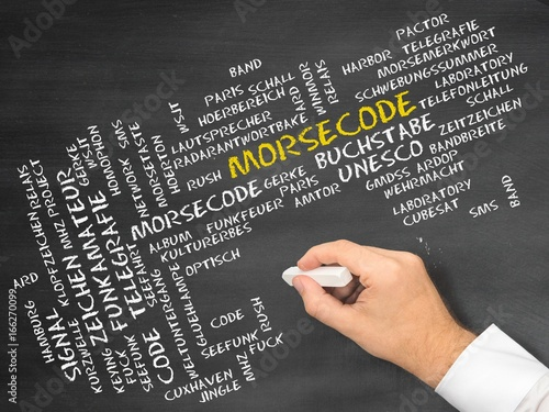 Morsecode - Buy this stock photo and explore similar images at Adobe