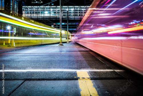 Trains Billede på lærred