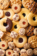 Background Of Cookies Assorted...