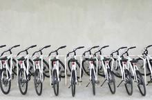 Bicycle Parking Modern Or Rent Bikes
