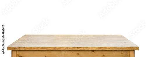Obraz isolated used tabletop - fototapety do salonu