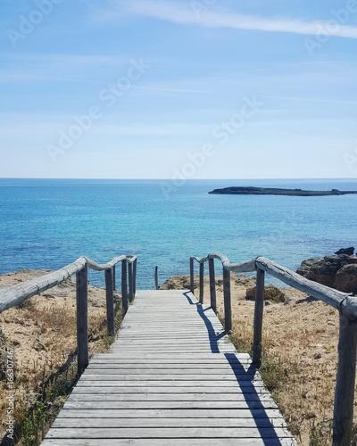 Cadres-photo bureau La Mer du Nord Isola di Pazze, Torre san Giovanni marina di Ugento - mare chiaro