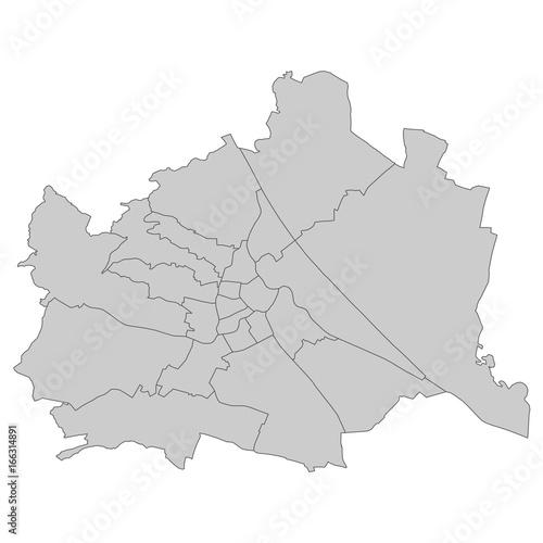 plakat Wien - Bundeshauptstadt Österreich