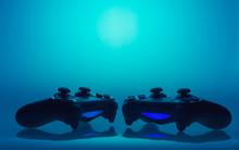 Game Joysticks Sillhouettes - ...