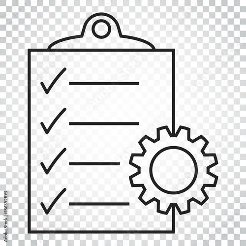 Fotografie, Obraz  Document vector icon