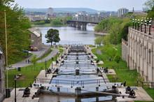 Rideau Canal In Downtown Ottaw...