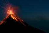 Erupting Volcano Fuego