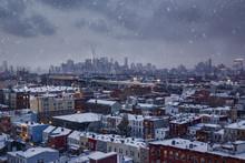 Snowy New York - Lower Manhatt...