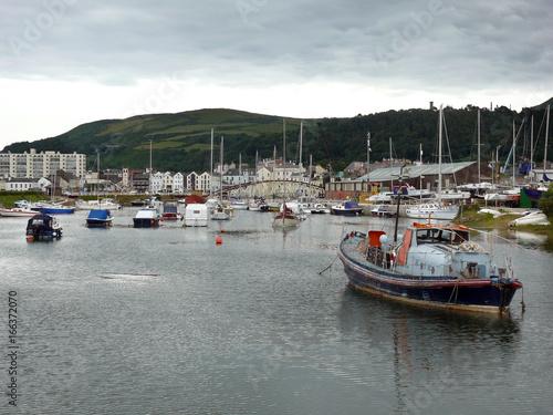 Obraz na plátně Hafen von Ramsey auf der Isle of Man
