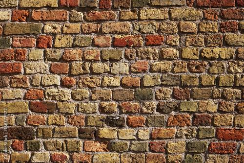 Keuken foto achterwand Baksteen muur Medieval brick wall