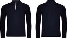 Men Zip Top Jacket. Vector Illustration