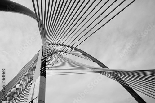 Papiers peints Pont Modern Bridge Architecture