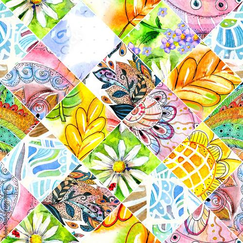 abstrakcyjny-wiosenny-wzor-patchwork