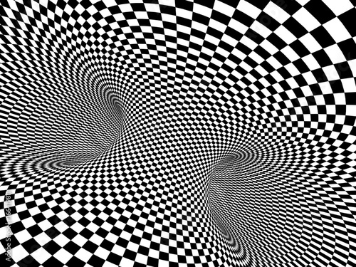 Abstract illusion