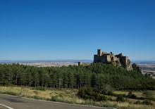Castillo De Loarre En Huesca, España