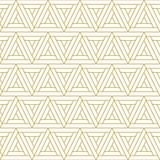 Minimalistyczny wzór plemienny z trójkątami. Jednolite wektor wzór - 166427428