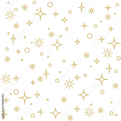 modern-linear-decoration-with-stars-in-gold-seamless-vector-pattern