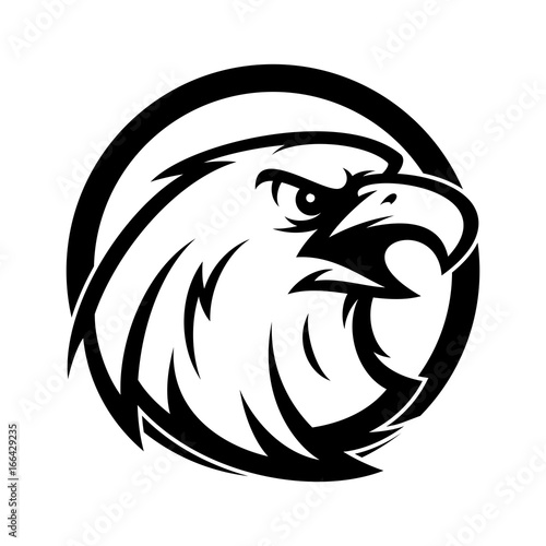 Fototapety, obrazy: Eagle Vector Logo Illustration