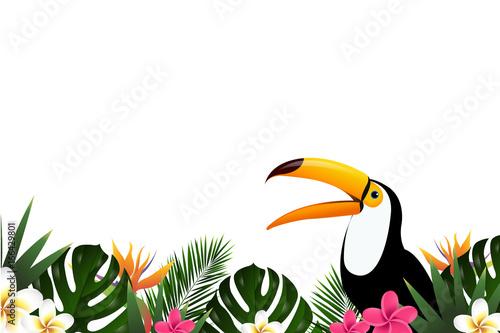 Lato sprzedaż transparent z Tukan